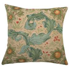 Arabesques w/Orange Tree Light Decorative Tapestry Pillow
