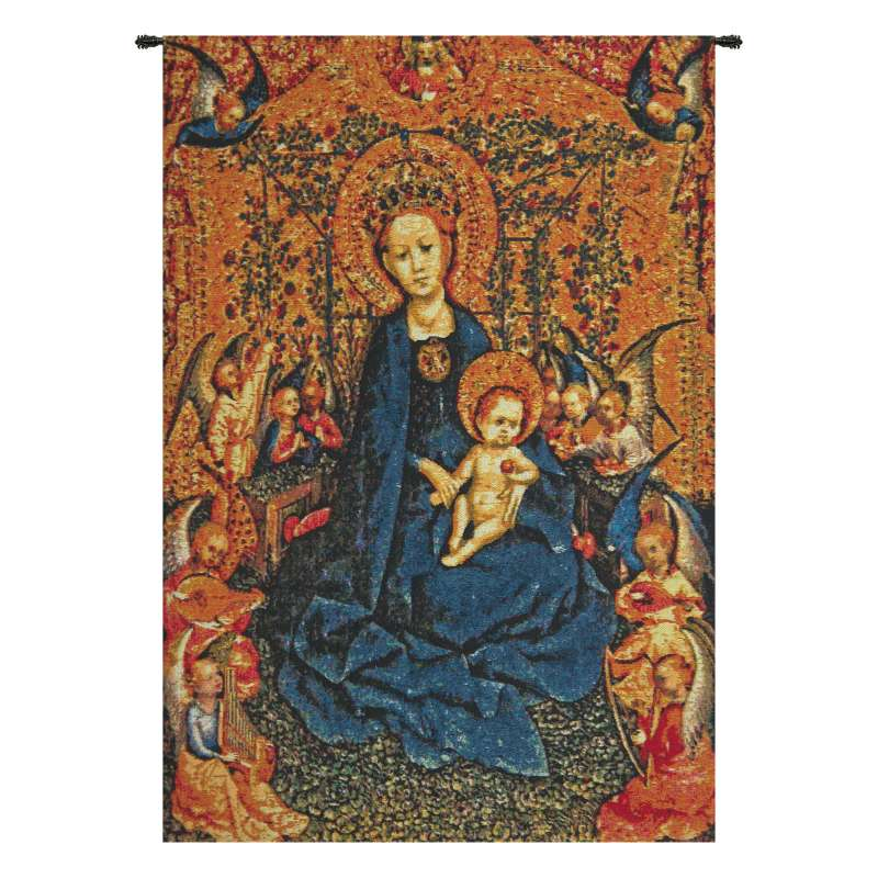 Maria with Child Flanders Tapestry Wall Hanging