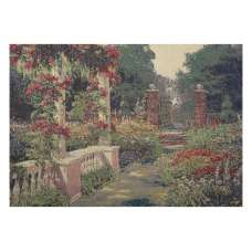Forgotten Garden  Stretched Wall Tapestry