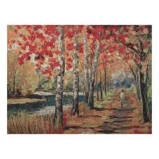 River Walk  Stretched Wall Tapestry