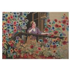 AKS013 Stretched Wall Tapestry