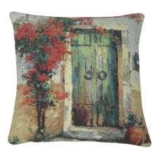 Villa Flora Over Door II Decorative Pillow Cushion Cover