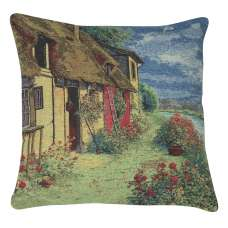 Tranquil Cottage Decorative Pillow Cushion Cover