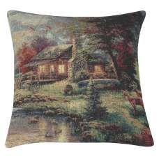 Rustic Retreat Decorative Pillow Cushion Cover