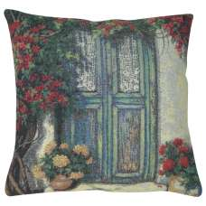 The Courtyard Doors Decorative Pillow Cushion Cover