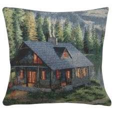 Rustic Cabin Decorative Pillow Cushion Cover