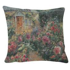 Enchanting English Garden II Decorative Pillow Cushion Cover
