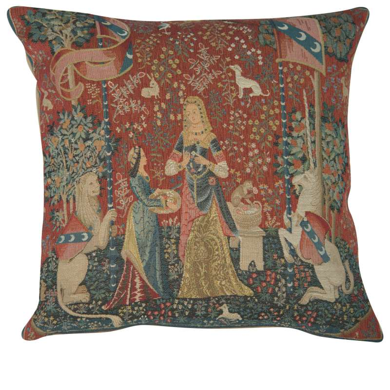 The Smell 1 Large Decorative Tapestry Pillow