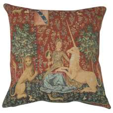 The Sight 1 Large Decorative Tapestry Pillow