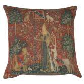 The Touch I Large French Tapestry Cushion