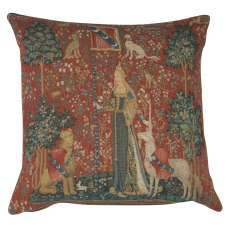 The Touch I Large Decorative Tapestry Pillow