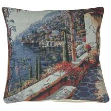 Lake Como Terrace II Decorative Pillow Cushion Cover