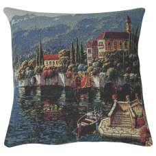 Shores of Lake Como II Decorative Pillow Cushion Cover
