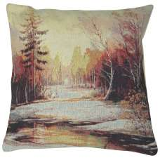 Late Autumn Glade Decorative Pillow Cushion Cover