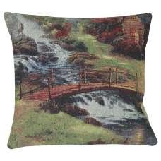 A Bridged Brook Decorative Pillow Cushion Cover