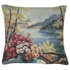 Lakeside Still Life Decorative Pillow Cushion Cover