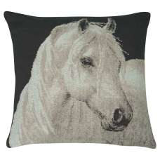 Horse in Charcoal II Decorative Pillow Cushion Cover