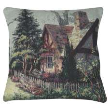 A Peaceful Cottage Decorative Pillow Cushion Cover