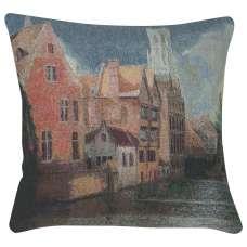 Scenic Village Decorative Pillow Cushion Cover