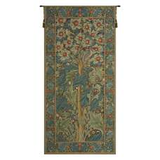 Woodpecker William Morris European Tapestry