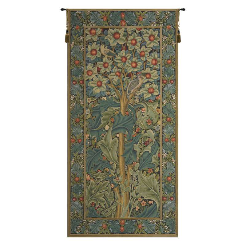 Woodpecker William Morris European Tapestry