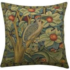 Woodpecker Right by William Morris European Cushion Cover