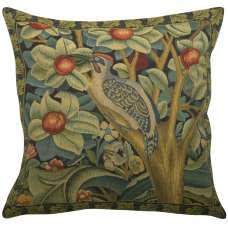 Woodpecker Left by William Morris European Cushion Cover