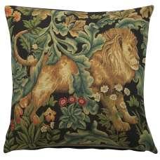 Lion by William Morris European Cushion Cover