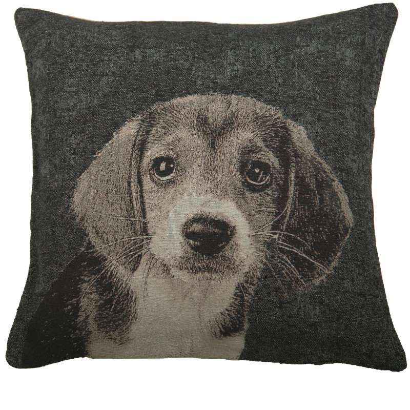 Puppy Dog Eyes II Decorative Pillow Cushion Cover