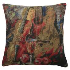 Stringed Still Life Decorative Pillow Cushion Cover