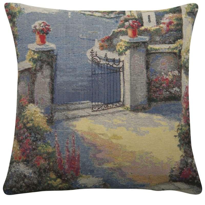 Courtyard Gates Decorative Pillow Cushion Cover