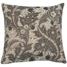 Le Petit Paradis Bleu Decorative Tapestry Pillow