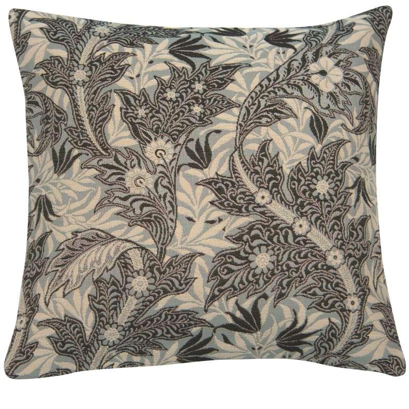 Le Petit Paradis Bleu French Tapestry Cushion