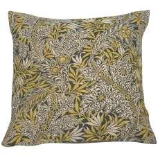 Le Petit Paradis Yellow Decorative Tapestry Pillow