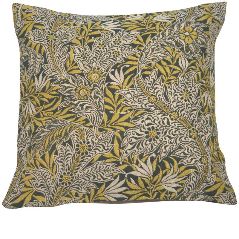 Le Petit Paradis Yellow French Tapestry Cushion
