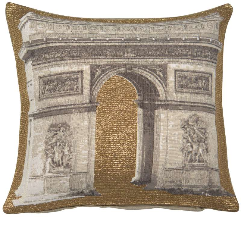 Triomphe Decorative Tapestry Pillow