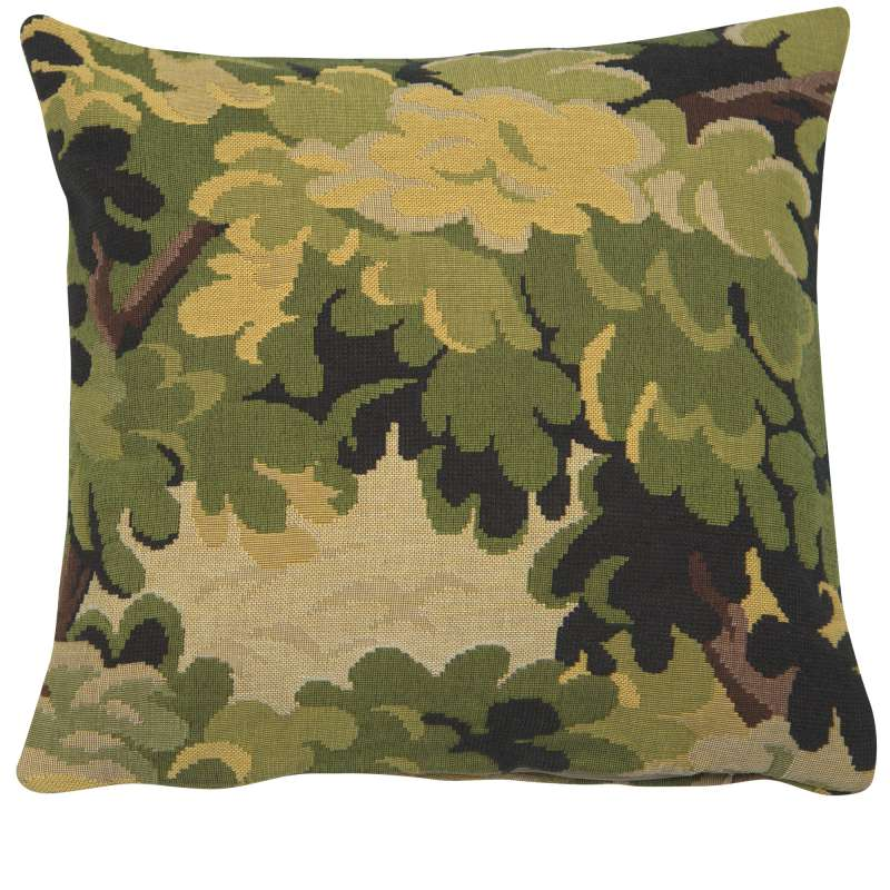 Foret de Paimpont Decorative Tapestry Pillow
