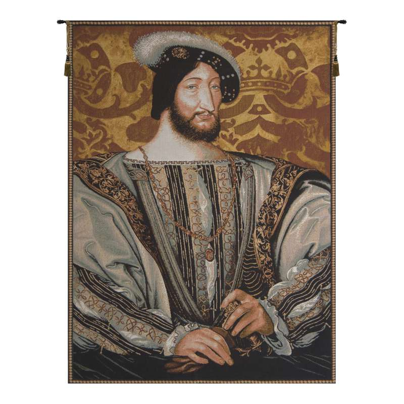 Francois Ier French Tapestry Wall Hanging