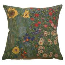 Country Garden A by Klimt European Cushion Cover