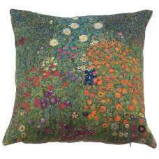 Flower Garden by Klimt European Cushion Cover
