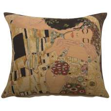 Le Baiser II by Klimt European Cushion Cover