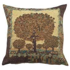 Tree of Life A by Klimt European Cushion Cover