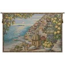 Amalfi Coast Italian Tapestry Wall Hanging