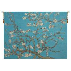The Almond Blossom II Belgian Tapestry