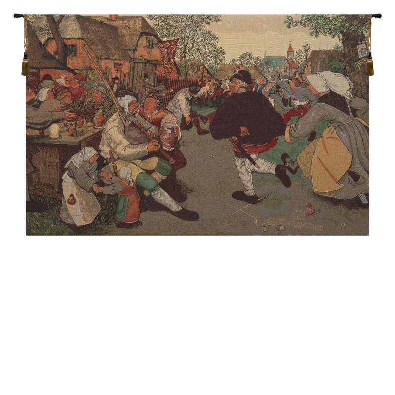 The Farmer's Dance Belgian Tapestry