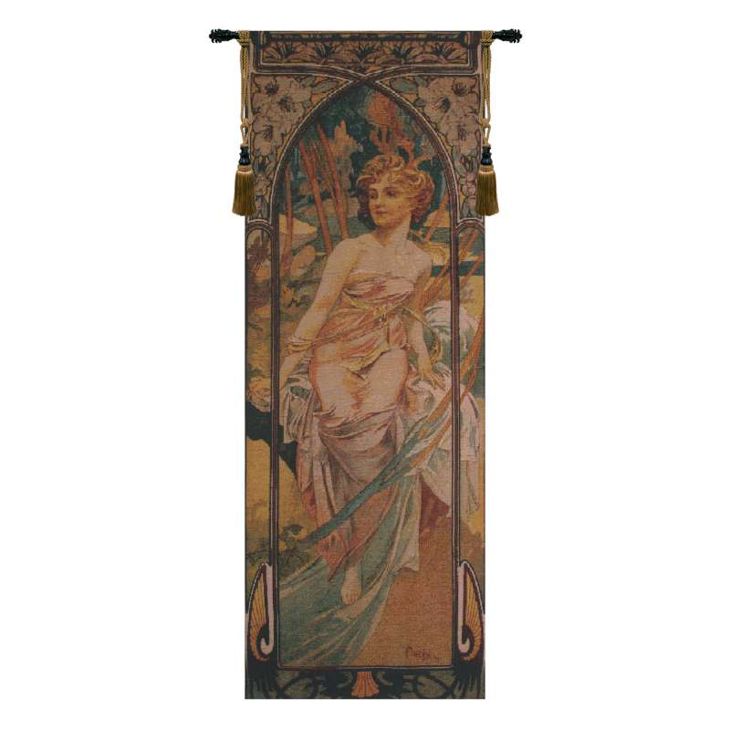 Mucha Matin Bright Flanders Tapestry Wall Hanging