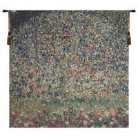 Apple Tree Klimt II Flanders Tapestry Wall Hanging