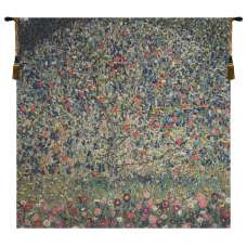 Apple Tree Klimt II Belgian Tapestry Wall Hanging