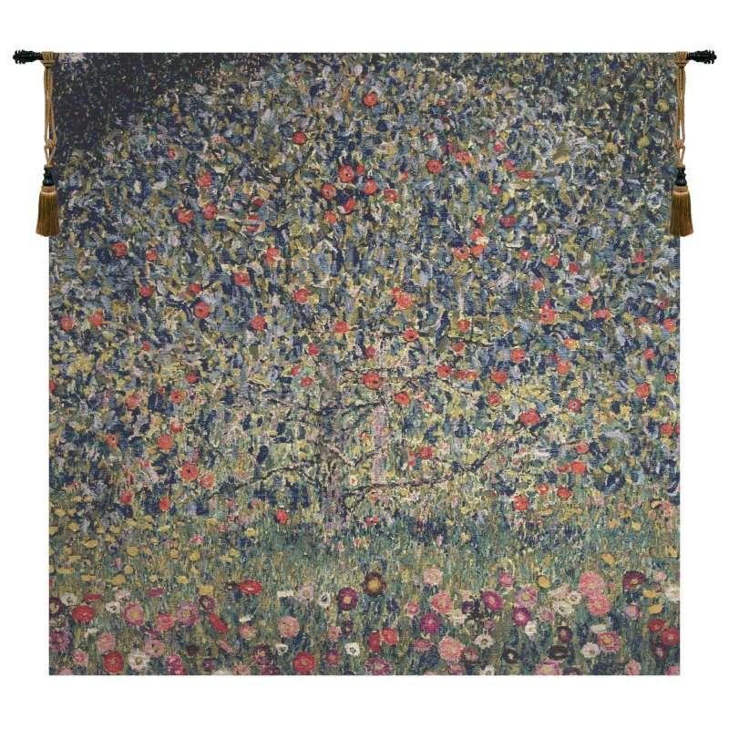 Apple Tree Klimt II Belgian Tapestry Wall Hanging
