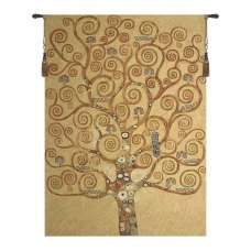 Klimt Tree of Life Large European Tapestries